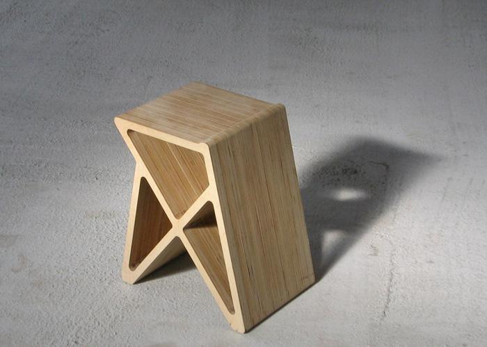 tabouret design bois Nicolas Bovesse wood sool design