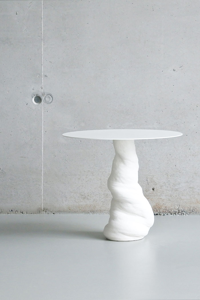 tornado side table - table tornade - coffee table
